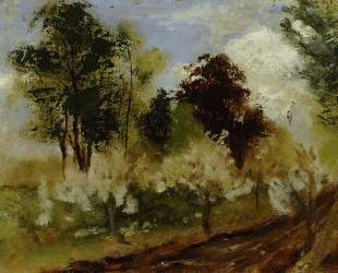 Belgian Landscape — Огюст Роден