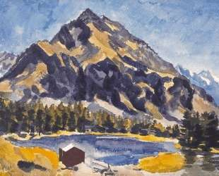 Bergsee (A Mountain Lake) — Иоганнес Иттен