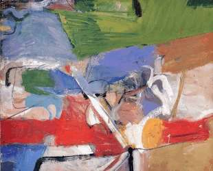 Berkeley No. 23 — Ричард Дибенкорн