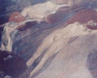 Bewegte Wasser — Густав Климт