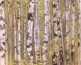 Birches — Николай Рерих