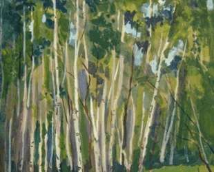 Birches at Noon — Константин Юон