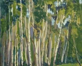 Birches at Noon — Константин Юон