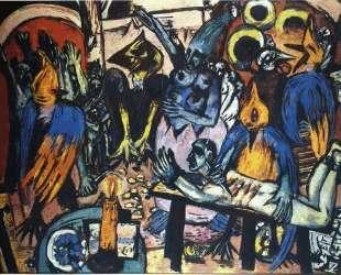 Bird's hell — Макс Бекман