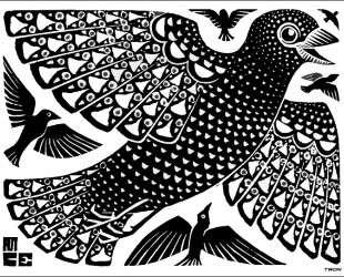 Birds — Мауриц Корнелис Эшер