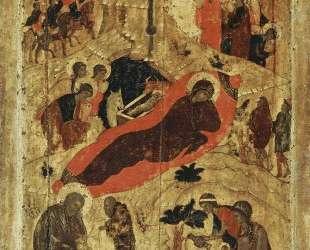 Рождество Христово — Андрей Рублёв