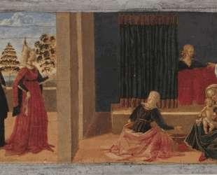 Рождение Девы Марии — Пьетро Перуджино