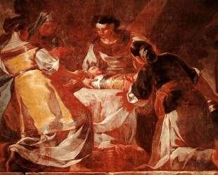 Birth of the Virgin — Франсиско де Гойя