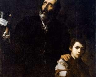 Blind Old Beggar — Хосе де Рибера