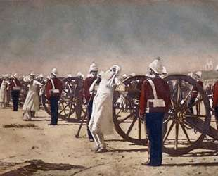 Blowing from Guns in British India — Василий Верещагин