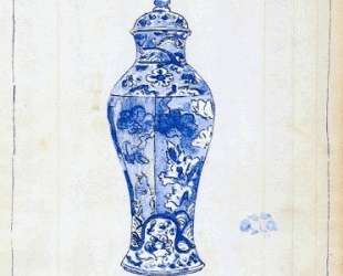 Blue and White Covered Urn — Джеймс Эббот Макнил Уистлер