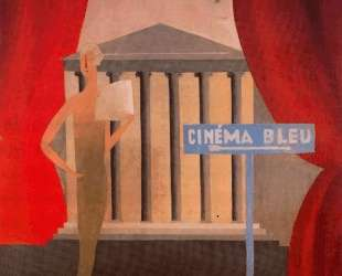 Blue cinema — Рене Магритт