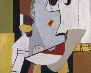 Голубая фигура в кресле — Аршил Горки