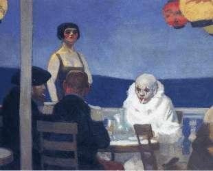 Blue night — Эдвард Хоппер