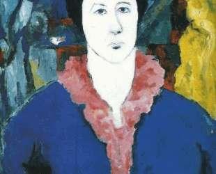 Синий портрет — Казимир Малевич