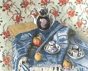 Голубая скатерть — Игорь Грабарь