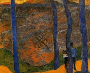 Синиедеревья — Поль Гоген