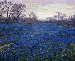 Bluebonnets at Twilight, near San Antonio — Роберт Джулиан Ондердонк