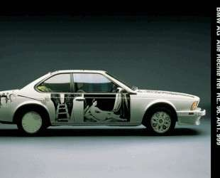 BMW_635_CSi_Art_Car — Роберт Раушенберг