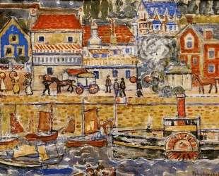 Boat Landing, Dinnard — Морис Прендергаст
