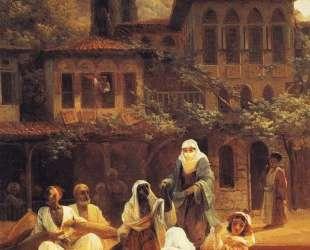 На лодке по Кумкапы в Константинополе — Иван Айвазовский