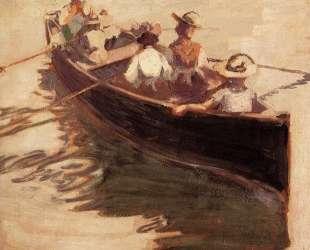 Boating — Эгон Шиле