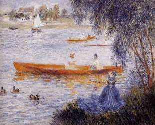 Boating at Argenteuil — Пьер Огюст Ренуар