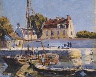 Boats — Альфред Сислей