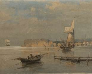 Boats in a port — Константинос Воланакис