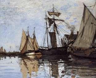 Лодки в порту Онфлёра — Клод Моне