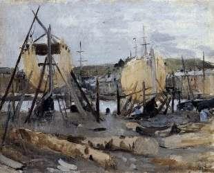 Boats under Construction — Берта Моризо