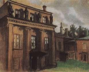 Дворец Бобринских в Петрограде — Зинаида Серебрякова