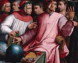 Boccaccio, Dante, Petrarca — Джорджо Вазари