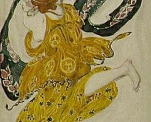 Беотиец. Эскиз костюма к балету Нарцисс — Леон Бакст
