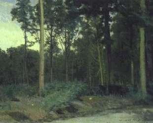 Bois de Boulogne near Paris — Иван Крамской