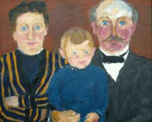 Bonnichsen family — Эмиль Нольде