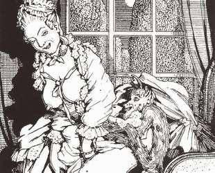 Книга маркизы. Иллюстрация 4 — Константин Сомов