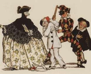 Книга маркизы. Иллюстрация 5 — Константин Сомов