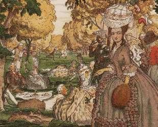 Книга маркизы. Иллюстрация 6 — Константин Сомов