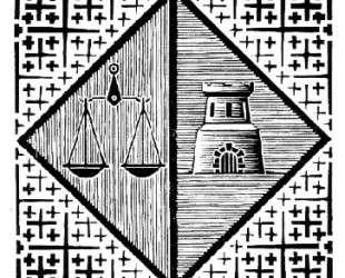 Bookplate A. R.A. Wertheim — Мауриц Корнелис Эшер