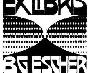 Bookplate B. G. Escher [Beer] — Мауриц Корнелис Эшер