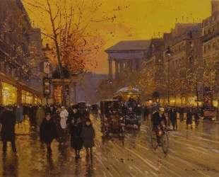 Boulevard de la Madeleine — Эдуард Кортес