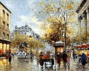 Boulevard des Capucines et Madeleine — Антуан Бланшар
