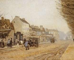 Boulevard Heloise, Argenteuil — Альфред Сислей