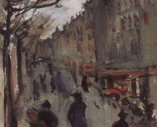 Бульвар в Париже — Зинаида Серебрякова