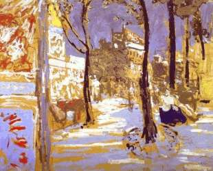 Boulevard of Battignolles — Эдуар Вюйар