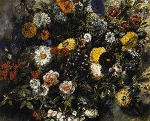 Букет цветов — Эжен Делакруа