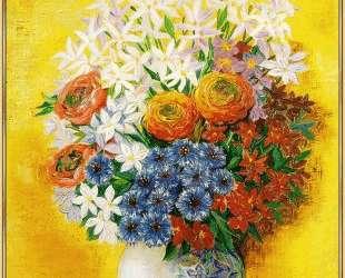 Букет из различных цветов — Моис Кислинг