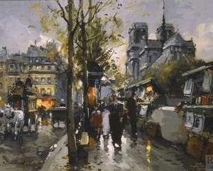 Bouquinistes de Notre Dame — Антуан Бланшар
