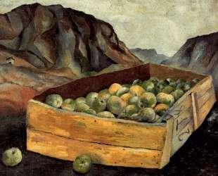 Ящик яблок в Уэльсе — Люсьен Фрейд